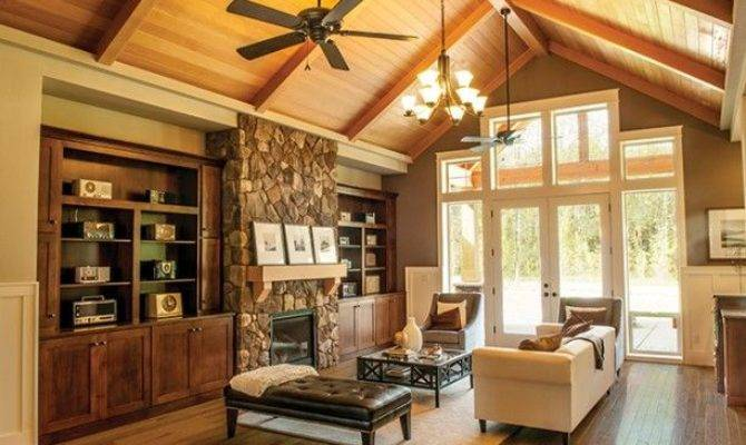 Decorate Room Cathedral Ceiling Homes