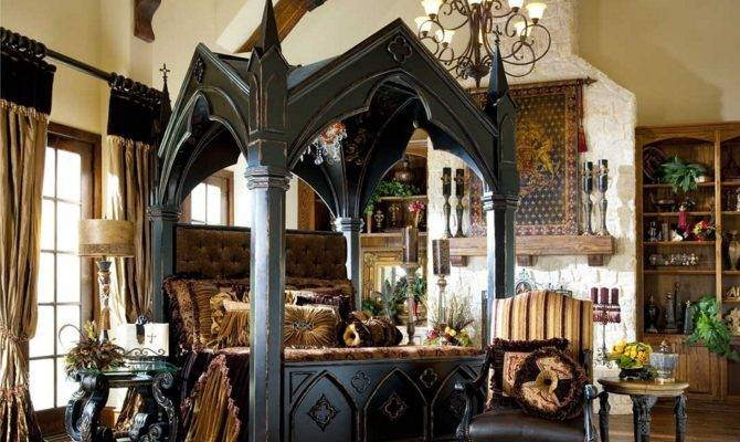 Decorating Bedroom Gothic Furniture