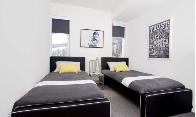 Decorating Ideas Modern Guest Room Yliving Blog