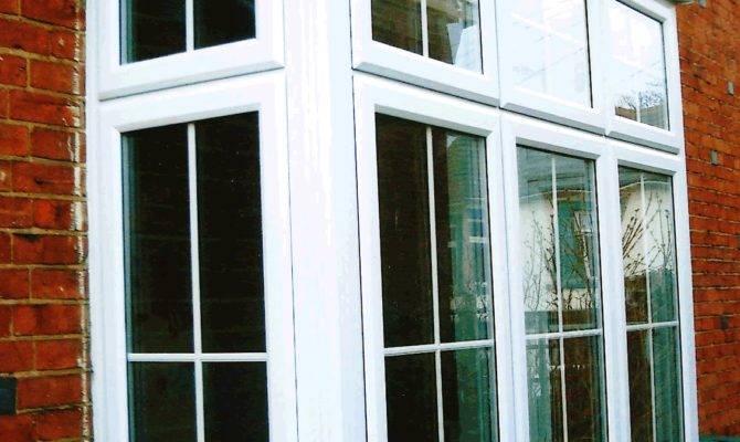 Decorating Stunning Modern Bay Windows Brown