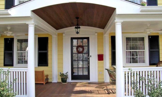 Decoration Ideas Front Porch Wonderful Home Designs