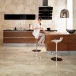 Decoration Kitchen Floor Tile Design Polished Porcelain Tiles