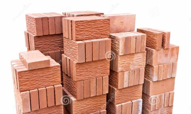 Decorative Red Clay Brick