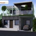 Decosee Modern Beautiful Duplex House Design
