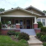 Del Ray Bungalow Shifted Center Wrap Around Porch