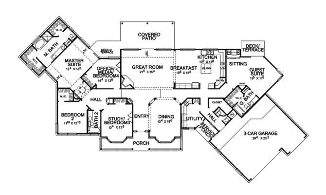 Delia Hill Country Home Plan House Plans More
