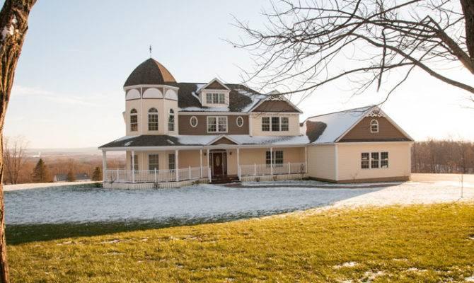 Delightful Victorian Style Modular Homes Architecture