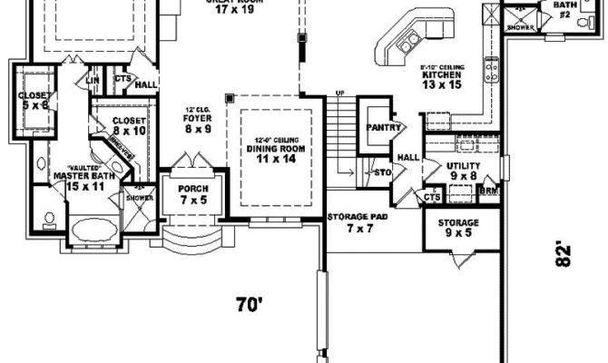 Delor Luxury European Home Plan House Plans
