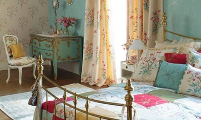 Design American Interior Bed Bedroom Bedrooms Country