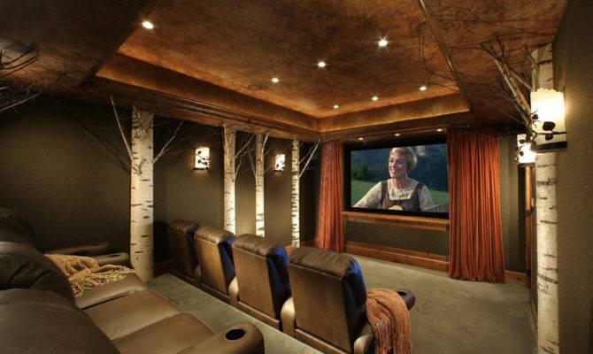 Design Associates Ltd Home Theaters Man Cave Interior Designs