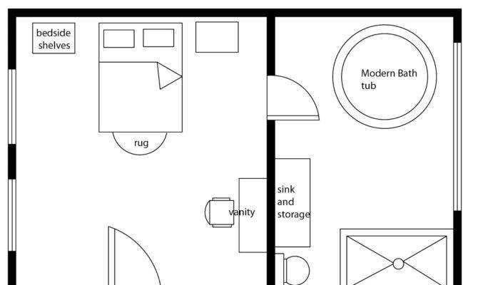 Design Floor Plan Bathroom Home Decorating