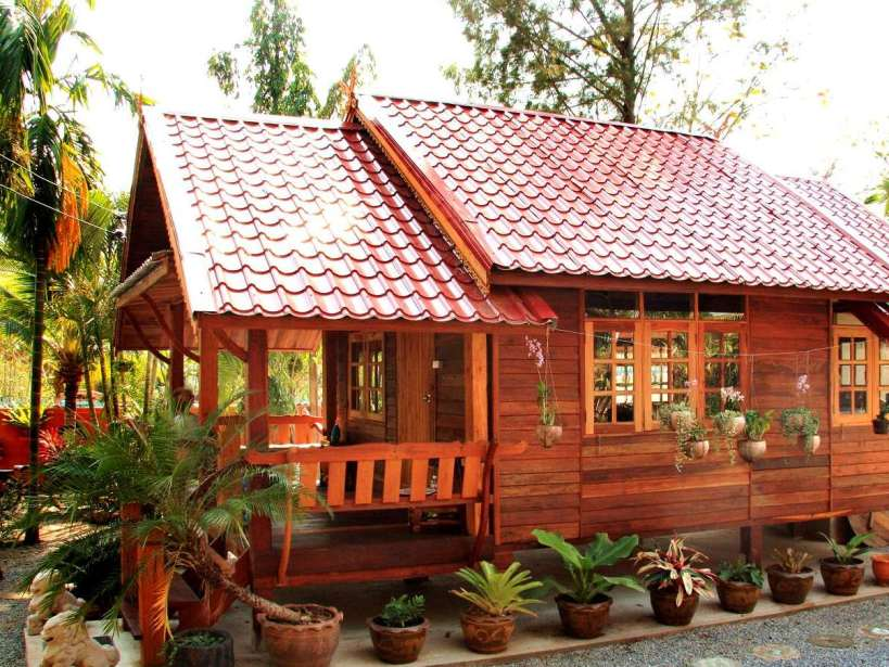 Design Grand Designs Wooden House London Garden