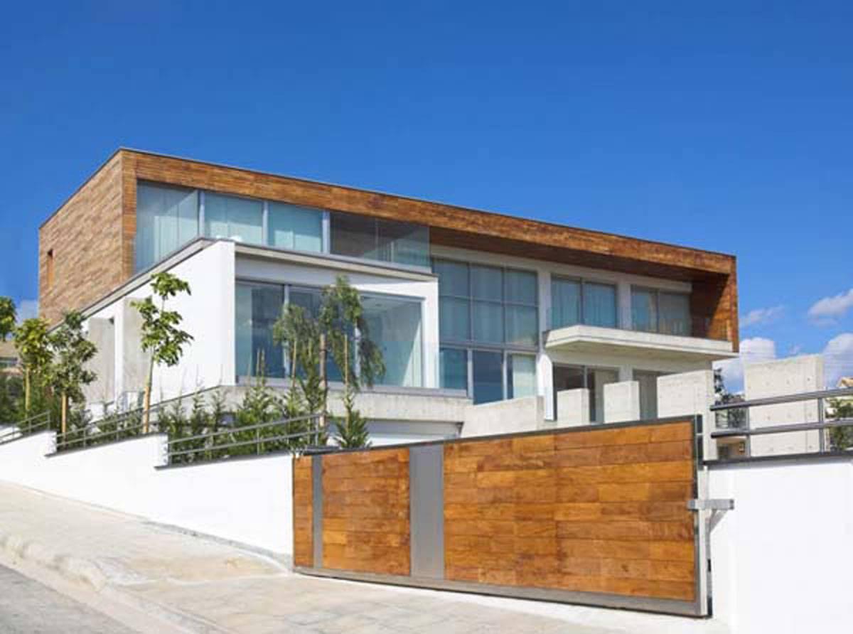 Design Home Modern Wood House Exterior Interior