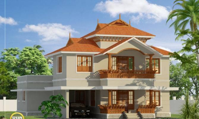 Design House Most Beautiful Houses Kerala Designs