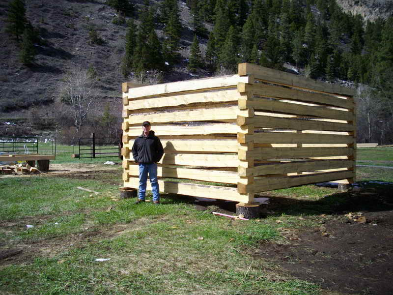 Design Idea Building Log Cabin