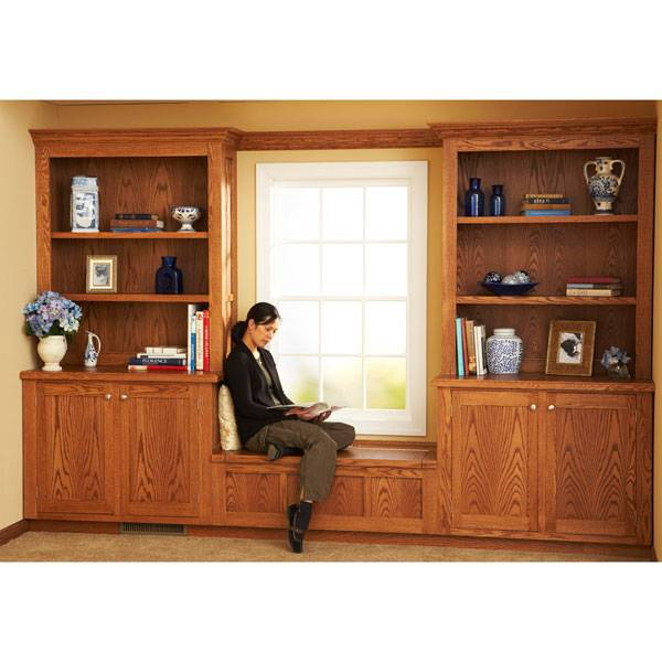 Design Install Built Bookcases Woodworking Plan