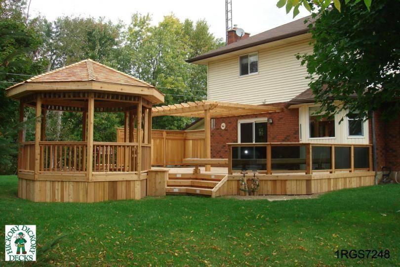 Design Terraces Decks Plans Hot Tubs Pdf Pergolas