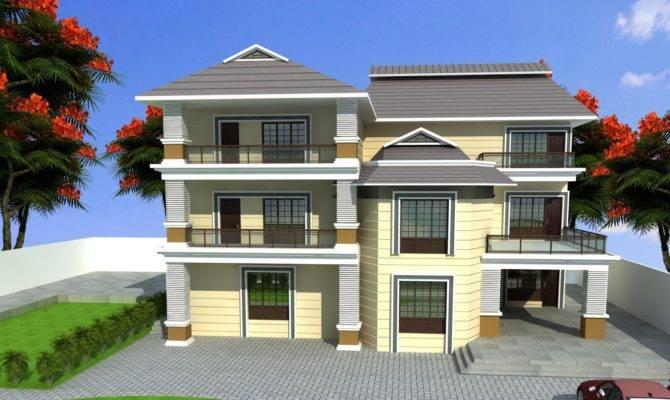 Design Triplex House Apnaghar