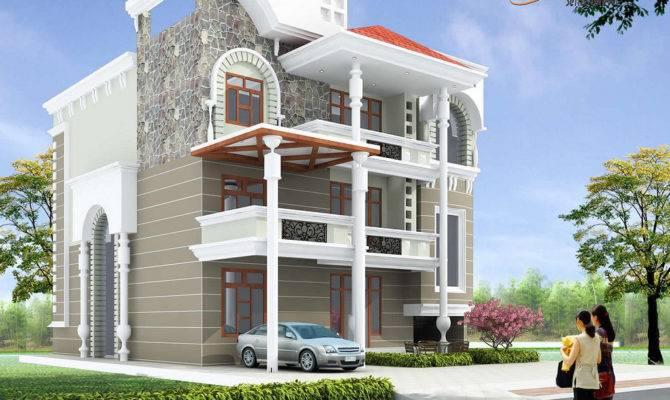 Design Triplex House Home Style