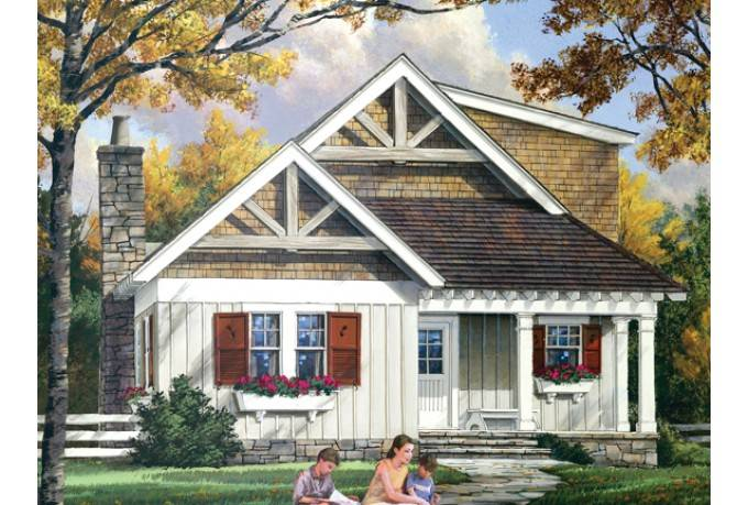 Designed Narrow Lot House Plan Lives Just Like Any Other Quality Home