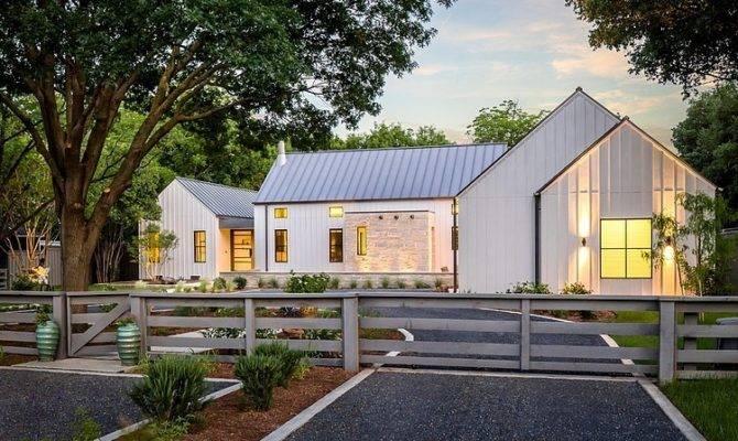 Designed Olsen Studios Contemporary Farmhouse Located