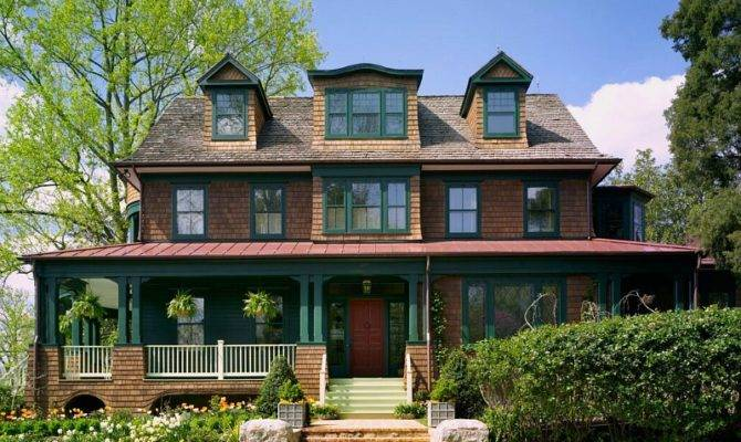 Designing New Shingle Style House Classic Old