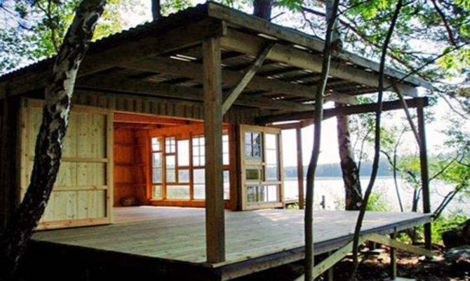 Designing Small Home Cabin Design Houses