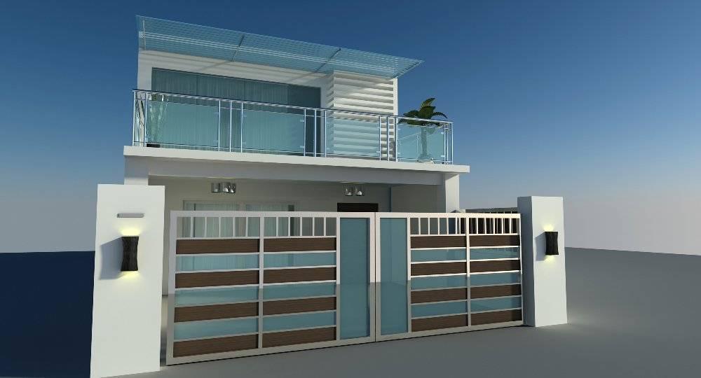 Designs Ideas Desain Rumah Minimalis Homes Modern Balcony