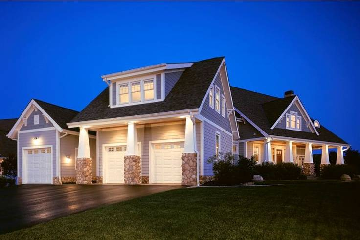 Detached Garage House Ideas Craftsman Exterior Garages Dream