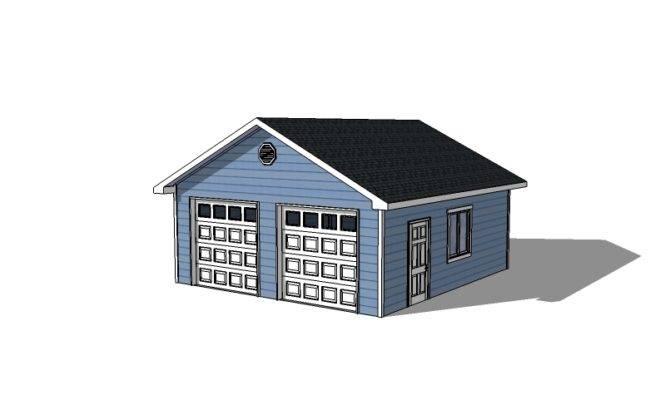 Detached Garage Plans Doors Icreatables
