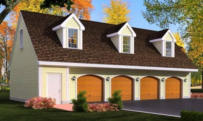 Detached Garage Plans Loft