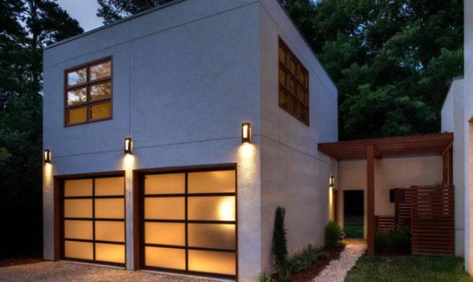Detached Modern Contemporary Garage Design