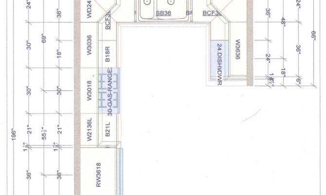 Detailed All Type Kitchen Floor Plans Review Small