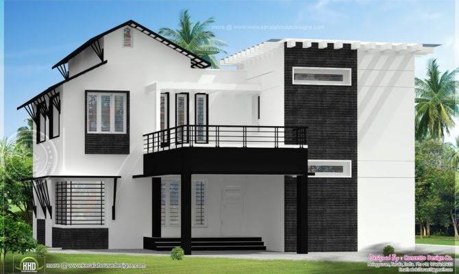 Different House Exteriors Concetto Design Kerala