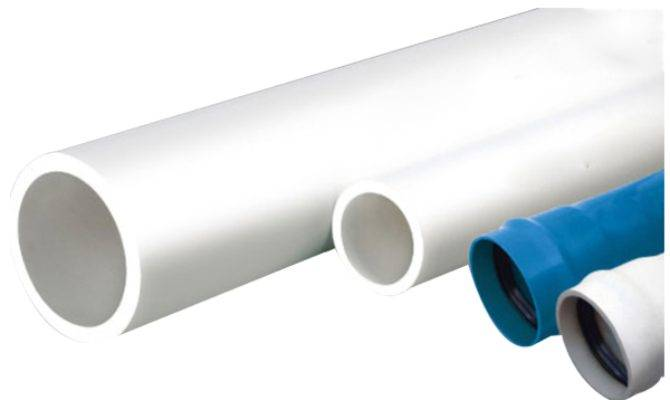 Din Standard Plastic Pvc Pipe Cold Hot Water