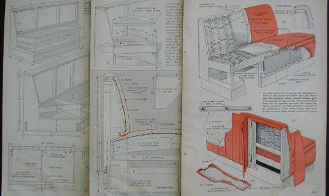 Dining Booth Build Plans Vintage Diner