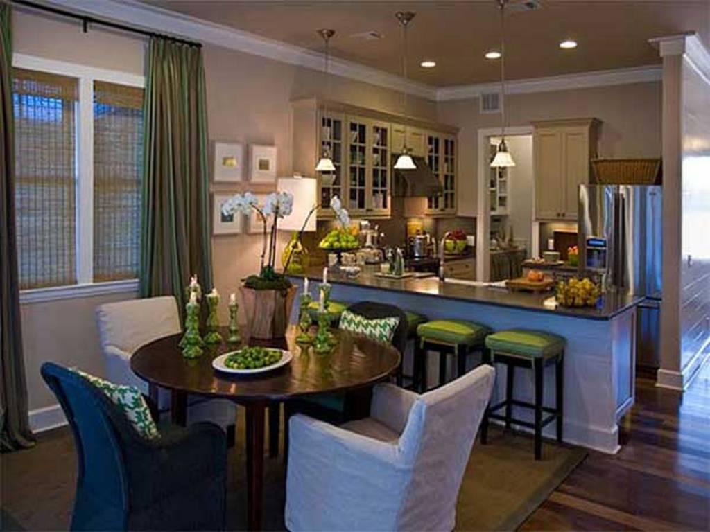 Dining Room Hgtv Eco Friendly Green Home Design Interior