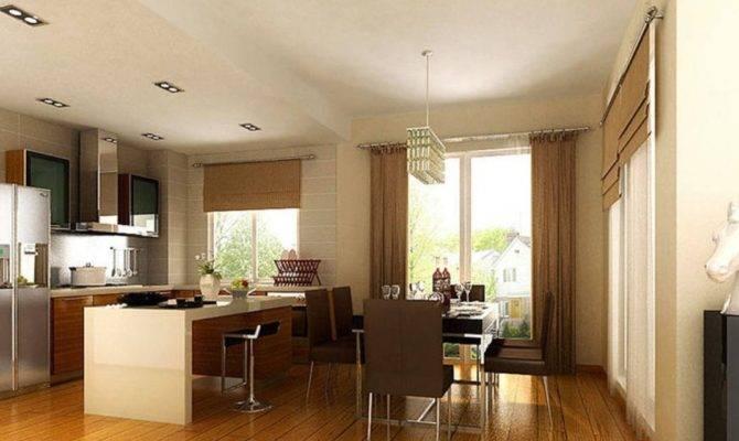 Dining Room Open Kitchen Interior Design