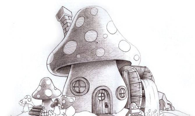 Displaying Cool Mushroom Drawings