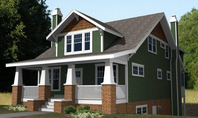 Displaying Two Story Craftsman House Plans
