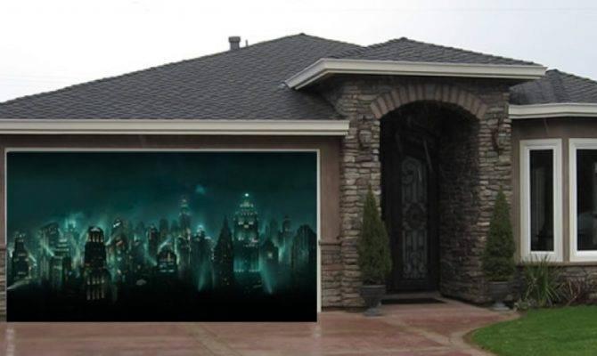 Distinctive Double Garage Doors Design