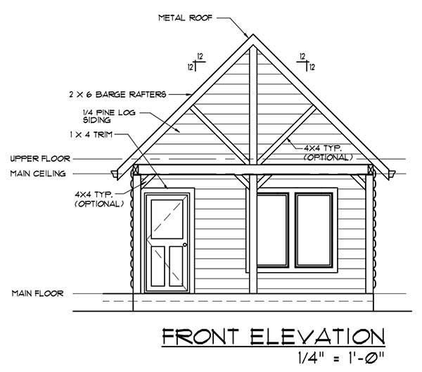 Diy Cabin Log Home Plans Detailed Step