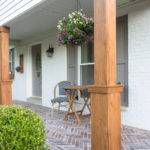 Diy Craftsman Style Porch Columns Shades Blue Interiors