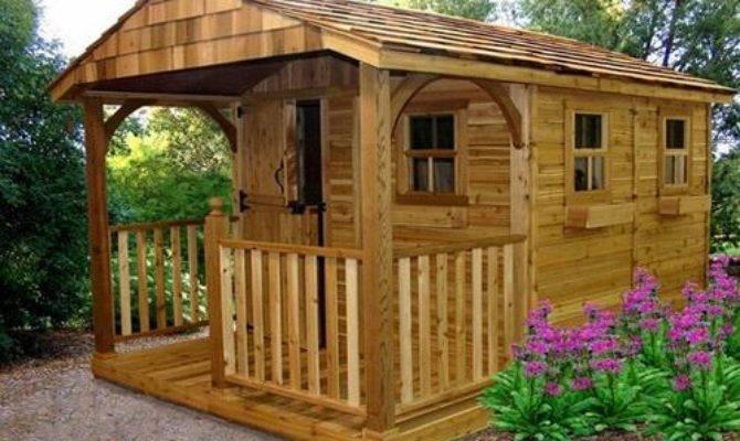 Diy Garden Shed Plans Blueprints