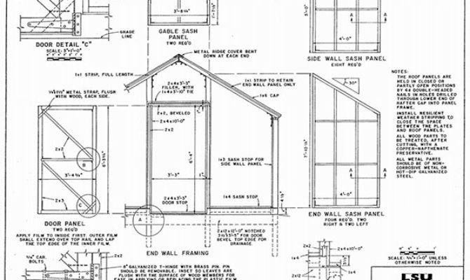 Diy Greenhouse Plans Can Build Weekend