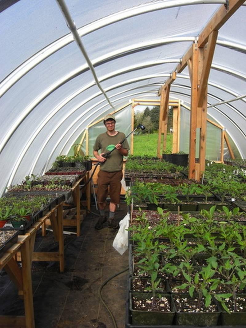 Diy Hoop Greenhouse Owner Builder Network