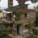 Diy Wooden Pallet House Pallets Designs