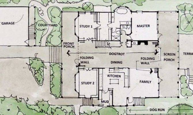 Dog Trot House Plans Floor Houses Would Make