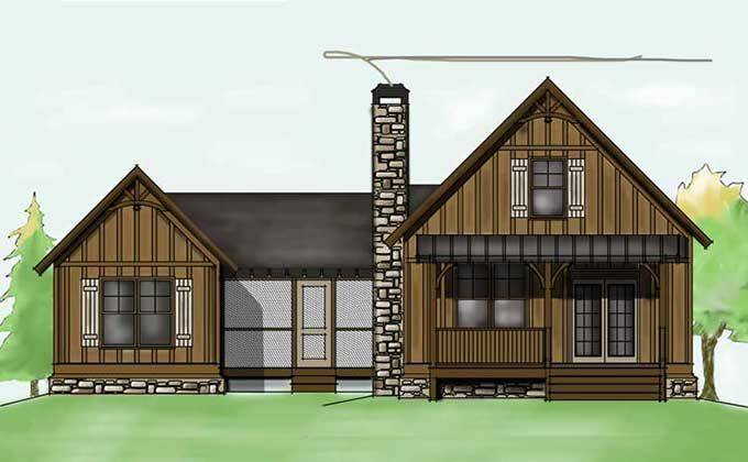 Dogtrot House Floor Plan Small Casa Someday Pinte