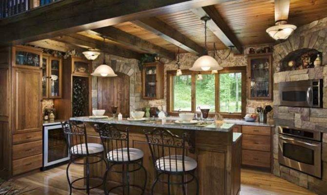 Door Inspiration Found Woodsy Log Home